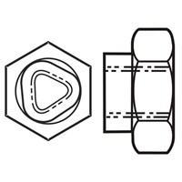 Microsize Flexloc NC - Cadmium Clear, Silver color plating