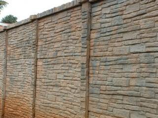 increte stone-crete cast-in-place decorative concrete wall system
